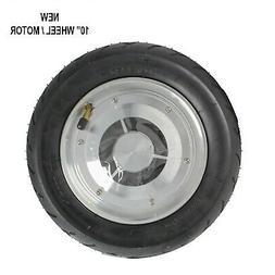 1x 10'' Motor/Wheel For Self Balancing Electric Cycle Replac