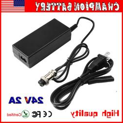24V 2A Charger Adapter for Electric Smart Self Balancing Sco