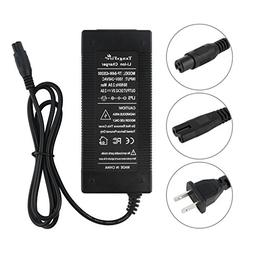 tangsfire 36V 2A Lithium Battery Charger for Scooter Hoverbo