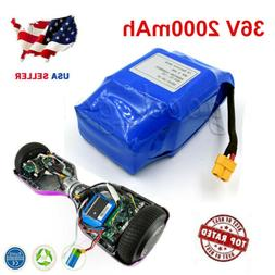 36V 2000mAh Li-Ion Battery for Self Balancing Scooter Hoverb