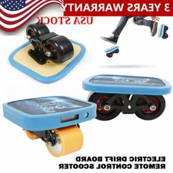 3pcs 20km/h Electric Board Scooter Skateboard Hover Shoes 35