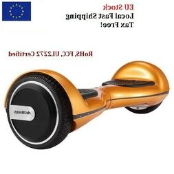 4000mAh 6.5 Inch Tire Electric Balance Scooter Bluetooth LED