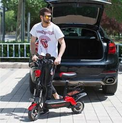 Daibot 580w/48v 8ah Portable 10in Two Wheel Folding Electric