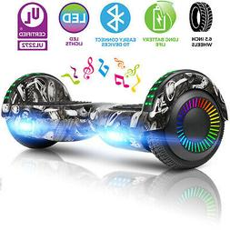 6.5'' 2-Wheel Hoverboard Electric Self Balance Scooter W/ Bl