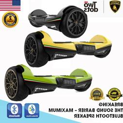 """6.5"""" 2 Wheel Off Road Electric Self Balancing Scoote w/ LED"""