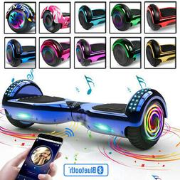 """6.5"""" Bluetooth Chrome Hoverboard Swagtron Hover Boards Self"""