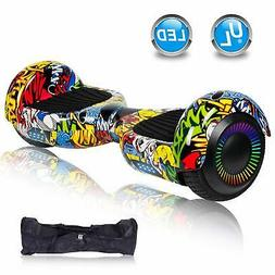 """6.5"""" Bluetooth Electric Hover board Self Balancing Scooter L"""