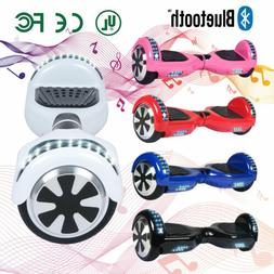 "6.5"" BLUETOOTH ELECTRIC HOVER BOARD SELF BALANCING SCOOTER L"