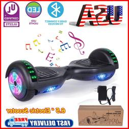 "6.5"" Bluetooth Hoover Board Electric Balancing Scooter Black"