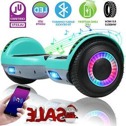 "6.5"" Bluetooth Hoverboard Electric Self Balancing Scooter UL"