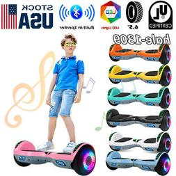 """6.5"""" Bluetooth Hoverboard Electric Self Balancing Kids Scoot"""