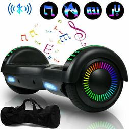 "6.5"" Bluetooth Hoverboard Electric Smart LED Flash Self Bala"