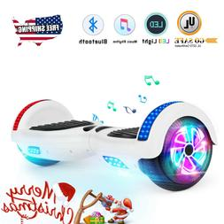"""6.5"""" Bluetooth Hoverboard for Girls 2 Wheel Electric Self Ba"""