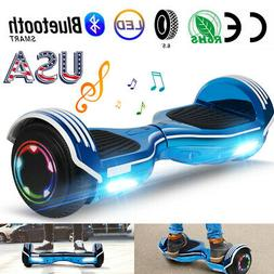 "6.5"" Bluetooth Hoverboard LED Electric Smart Board Scooter C"