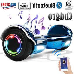 "6.5"" Bluetooth Hooverboard LED Hoverheart UL2272 Self Balanc"