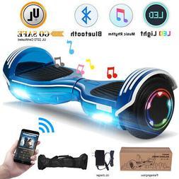 "6.5"" Bluetooth Hoverboard LED Hoverheart UL2272 Self Balanci"