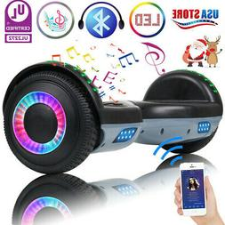 """6.5"""" Bluetooth Hoverboard LED Self Balance Electric Scooter"""