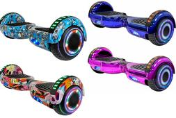"""6.5"""" Bluetooth LED Hoverboard Self Balancing Electric Scoote"""