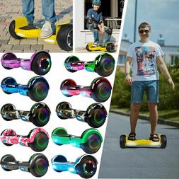"6.5"" Bluetooth Music Speaker Hoverboard Hover Boards Self Sc"