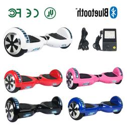 "6.5"" Bluetooth Self Balancing Scooter Smart Hover Board LED"