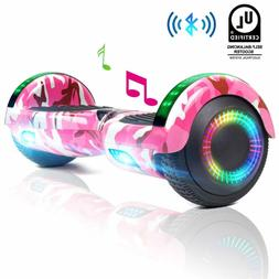 6.5'' Bluetooth Speaker LED Hoverboard Balancing Scooter 2-W