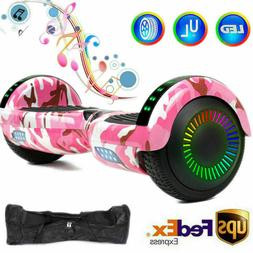 6.5'' Bluetooth Speaker LED Hoverboard Self Balancing Scoote