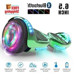 🛴6.5 Electric Hoverboard Bluetooth Speaker Led Self Balan