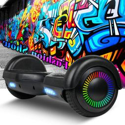 """6.5"""" Electric Hoverboard Scooter LED Lights UL2722 Certified"""