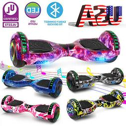 "6.5"" Electric Hoverboard Self-Balancing LED Bluetooth Scoote"