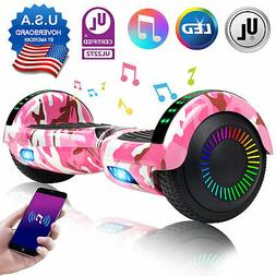 """6.5"""" Hoverboard Bluetooth Electric LED Self Balancing Scoote"""