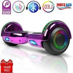 """6.5"""" Hoverboard Bluetooth Electric Self Balance Scooter no B"""