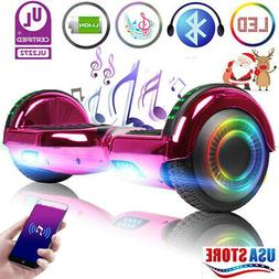 "6.5"" Hoverboard Bluetooth LED Electric Self Balance Scooter"