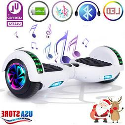 """6.5"""" Hoverboard Bluetooth LED Electric Self Balancing Scoote"""