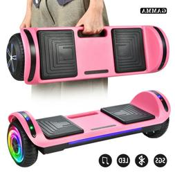 """6.5"""" Hoverboard Bluetooth LED Electric Self Balance Scooter"""