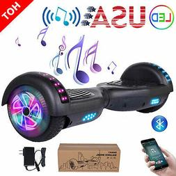 """6.5"""" LED Hoverboard Electric Self Balance Bluetooth Scooter"""