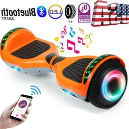 "6.5"" LED Hoverboard Electric Self Balancing Bluetooth Scoote"