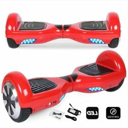 "6.5"" Hoverboard Electric Self Balancing Scooter LED Girls Bo"