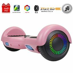 "6.5"" Hoverboard for Kids UL2272 Certified with LED Lights Se"