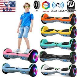 "6.5"" Hoverboard Self Balancing Scooter Balance Board Bluetoo"