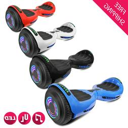 """6.5"""" Hoverboard Self Balancing Scooter Hover board Bluetooth"""