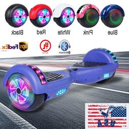 """6.5"""" Hoverboard Self Balancing Wheel Electric Scooter Blueto"""