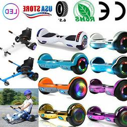 """6.5"""" Hoverboard Two Wheels Self Balancing Electric Scooter H"""