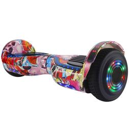 6 5 hoverboard with handle bluetooth speaker