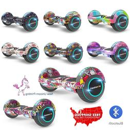 6.5'' hoverboard with LED& BLUETOOTH, Two Wheel Electric Sco