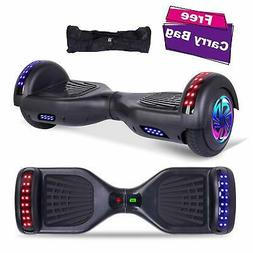 """6.5"""" Hoverboard with LED Lights Self-Balancing Electirc Scoo"""