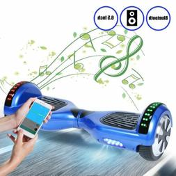 """6.5"""" Hoverboard with LED lights w/ Bluetooth Speakers - Self"""