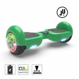 6.5'' hoverboard with Rainbow Flash LED Self Balance Wheels