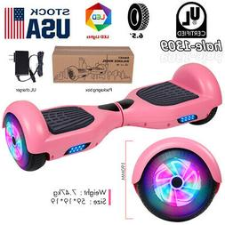 """6.5:"""" Hoverboards Scooter Electric Self-Balancing LED Pink G"""