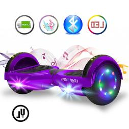 """Levit8ion 6.5"""" ION Hoverboard w/Bluetooth LED Built-in Speak"""