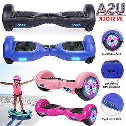 """6.5"""" LED Two Wheels Hoverboard Electric Self Balance UL Scoo"""